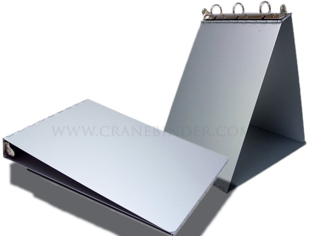 3 ring easel binder aluminum portrait