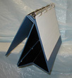 3 Ring Easel Stand Up Binder Display Flip Chart Tabletop