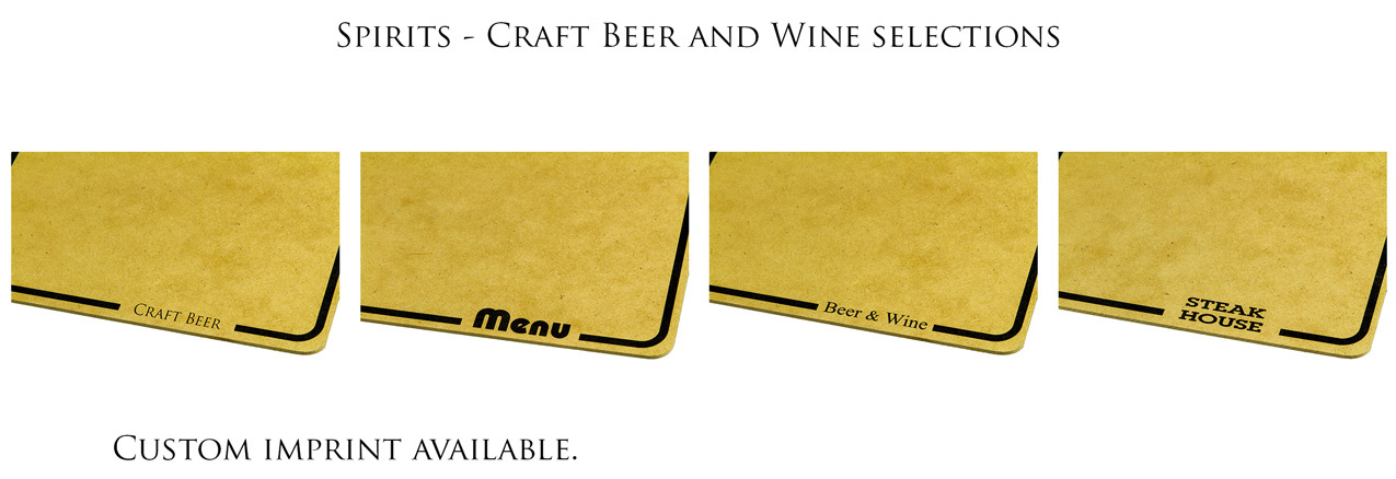 Custom Craft Beer Clipboard