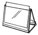 easel ring binder