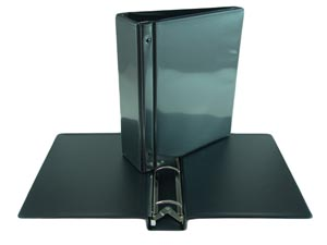 Black swing hinge View Binder