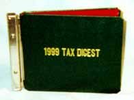 tax digest binder